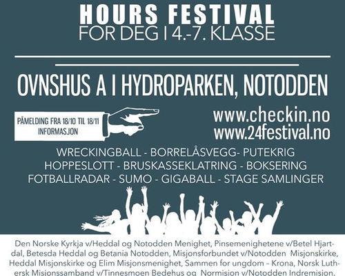 24 hours festival, Notodden